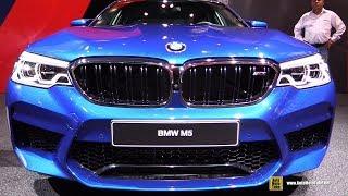 2018 BMW M5 - Exterior And Interior Walkaround - Debut At 2017 Frankfurt Auto Show