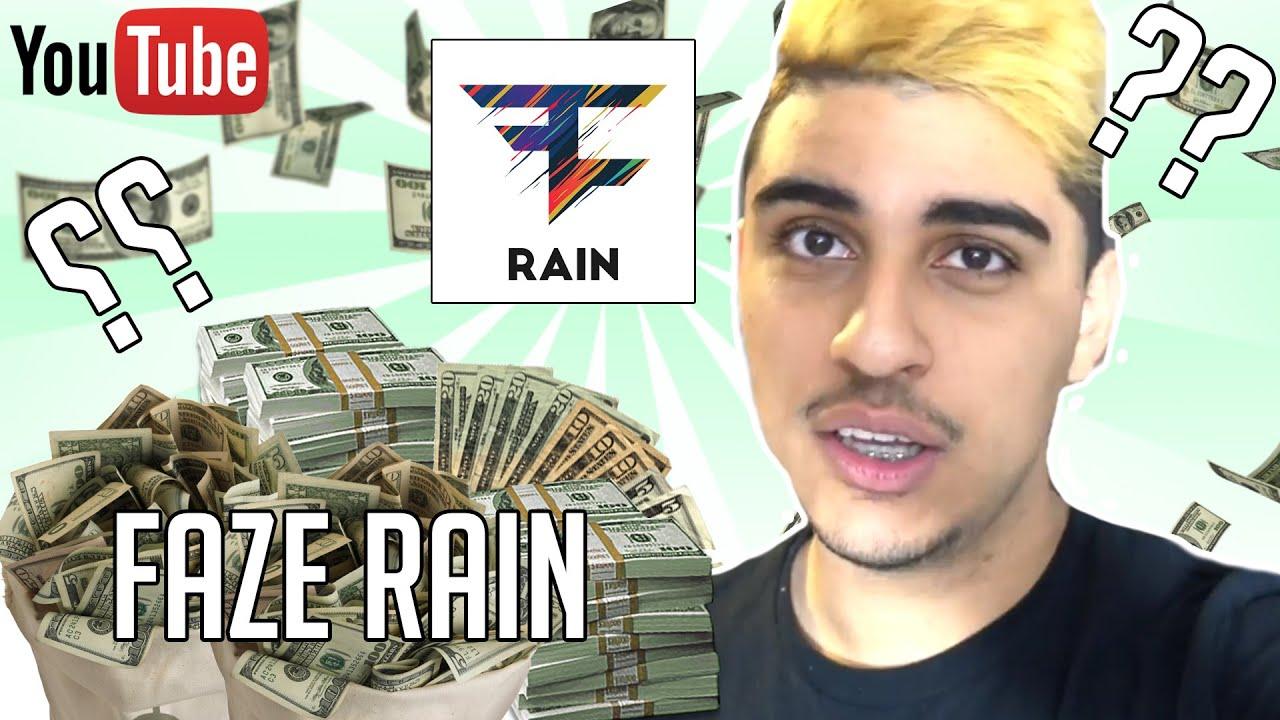 How much does faze rain make a year