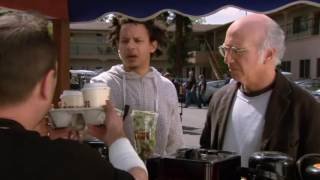 Eric Andre appearance in Curb your Enthusiasm