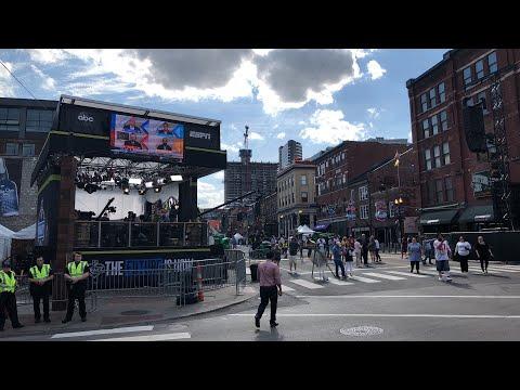 "NFL Draft 2019 Nashville Downtown ""Draft Town"" Livestream"