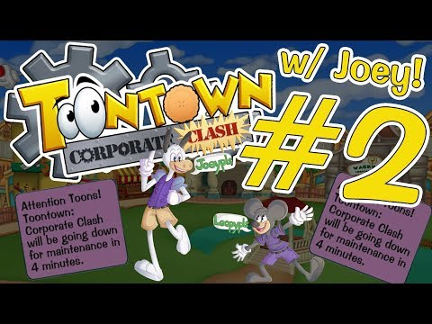 Toontown: Corporate Clash - Defeating Maintenance | #2