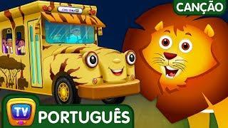 Ovos Surpresa As rodas do ônibus - Quênia | Aprenda os animais e seus sons | ChuChu TV
