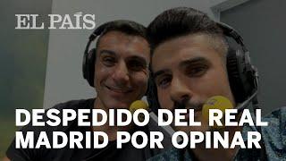 Álvaro Benito, DESPEDIDO del REAL MADRID por sus CRÍTICAS a algunos JUGADORES