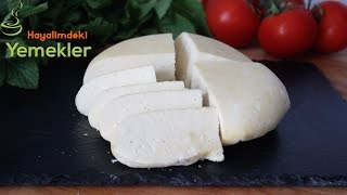 Sirke ile Peynir Yapımı - Maya Olmadan Peynir Yapımı - Sirkeli Peynir Tarifi
