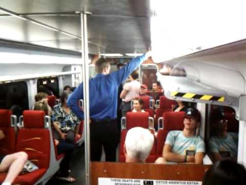 Shakespeare on Train (New Mexico's Rail Runner)