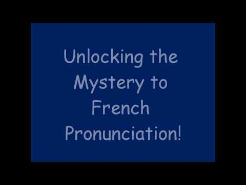 French Unciation Tips For Beginners