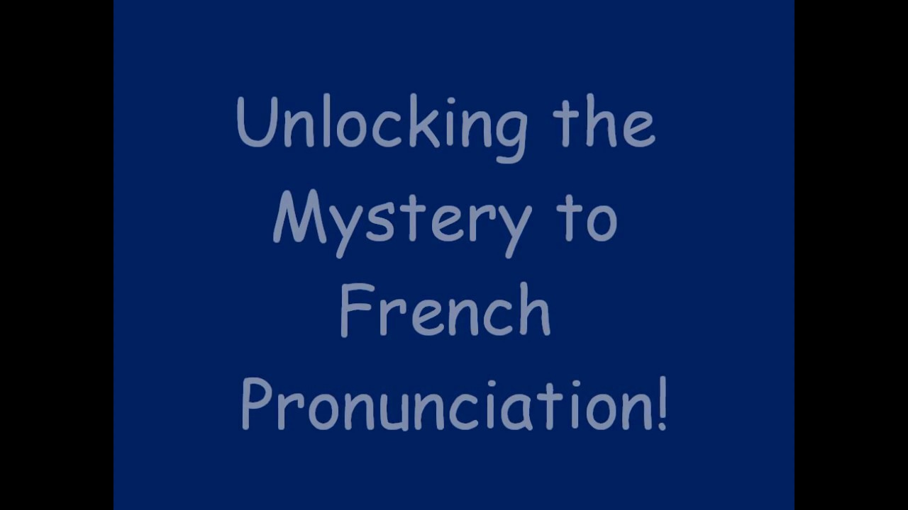 French pronunciation tips for beginners youtube french pronunciation tips for beginners solutioingenieria Gallery
