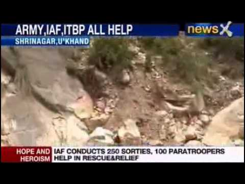 Uttarakhand floods 2013: Soldiers brave the floods Travel Video