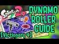 Dynamo Roller Guide - Splatoon 2 - Victionary Entry 4