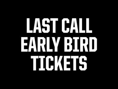 Last Chance for Early Bird Tickets - Disposable Film Fest 2016