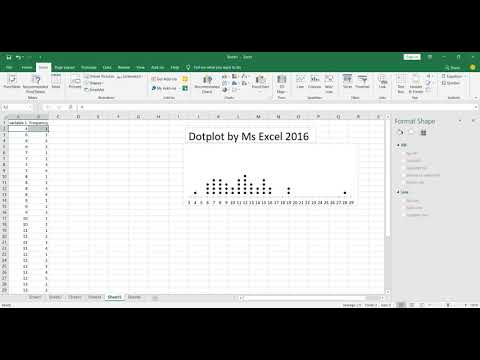 Dotplot By Excel 2016