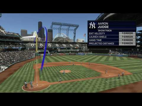 AARON JUDGE BREAKS SHOWTRACK? In MLB 17 The Show