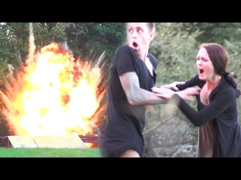 Blowing Up My Kid PRANK!!