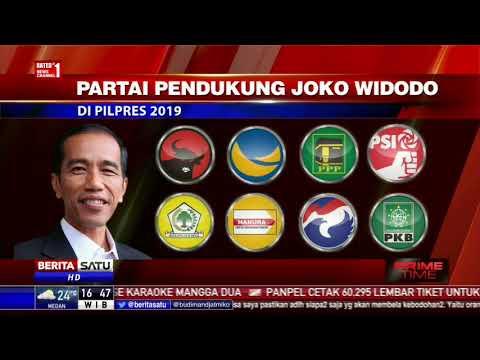 Jokowi dan Prabowo Kembali Jadi Rival di Pilpres 2019