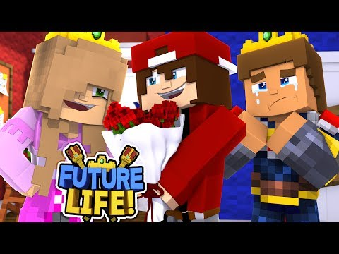 Minecraft FUTURE LIFE - LITTLE KELLY LEAVES DONNY & MOVES IN WITH JAY HER EX BOYFRIEND!!