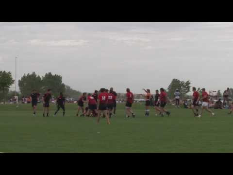 Missouri HS All Stars Rugby JV vs Nebraska 2017