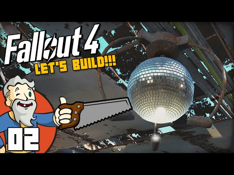 """SHINY DISCO BALL!!!"" Fallout 4 LET'S BUILD Part 2 - 1080p HD PC Gameplay Walkthrough"