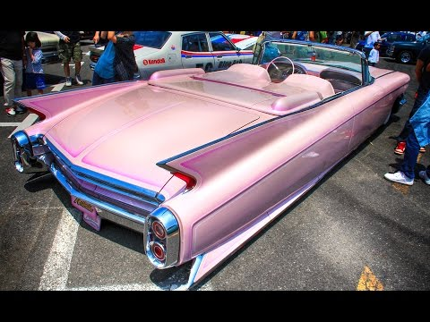 Cadillac Eldorado 2015 >> 1960 Pink Cadillac Convertible Custom Car by Blues Mobile - YouTube