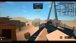 Roblox Battle Field - Quad UAV + 22 Killstreak