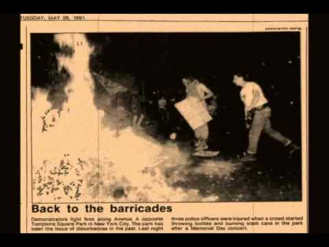 Interview Tompkins Square Park Memorial Day riot 1991