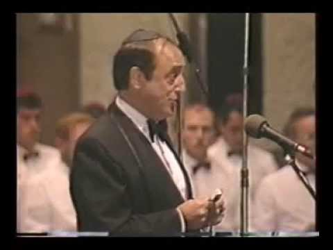 Cantor Lubin sings at A Concert of Hazzanut (1987)