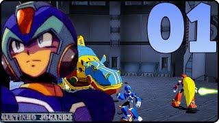Vamos Jogar Megaman X Command Mission Parte 01