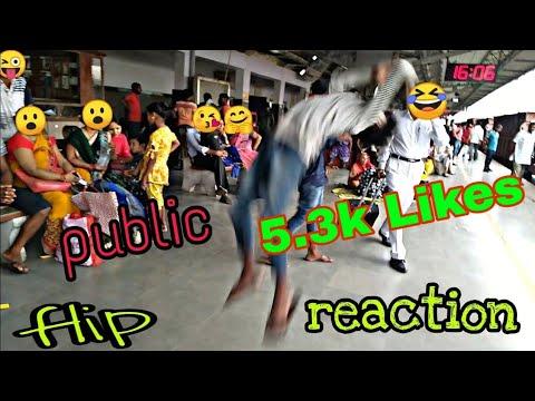 #Publicflip #publicfun #tiktokfun FLIPS IN PUBLIC ! FliPS REACTION 😮    PART 1