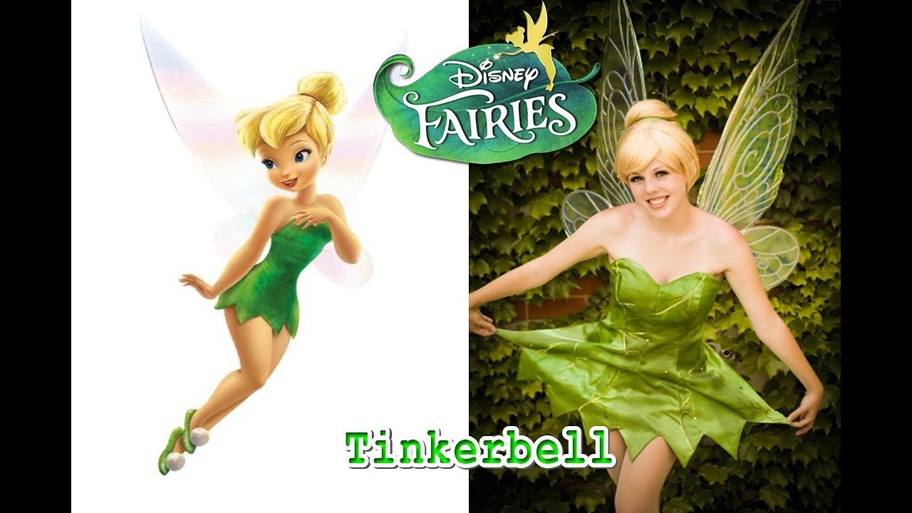 Disney Fairies - Tinker Bell In Real Life - All Characters 2018