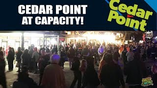Cedar Point Packed To Capacity