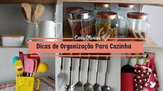 🔥IDÉIAS INCRÍVEIS PARA VOCÊ ORGANIZAR E DECORAR A SUA COZINHA | Carla Oliveira