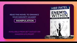 Book Trailer | Enemy Within by HBR Patel