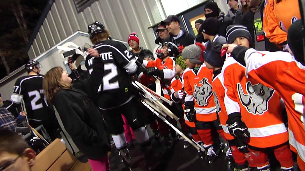 El Paso Rhinos Hockey Outdoor Game Highlights 02 14 2014 Youtube