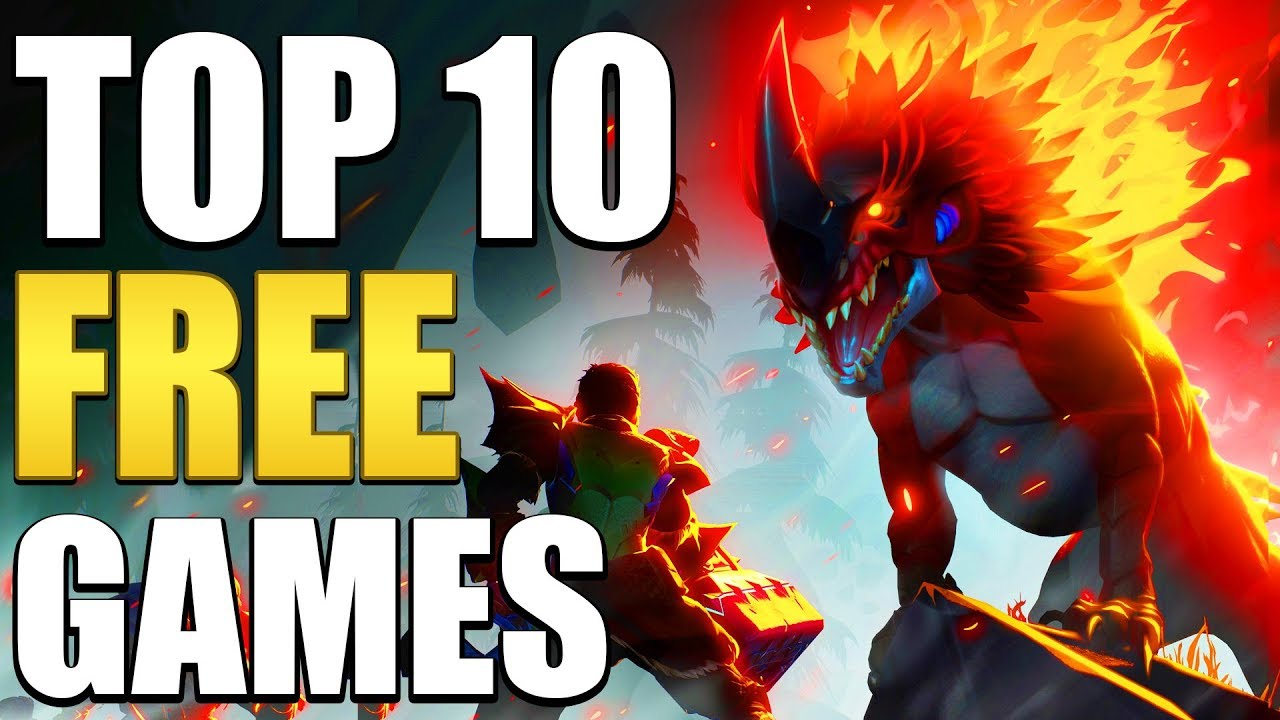 Top 10 Free Games You Should Play In 2019 - Youtube-1242