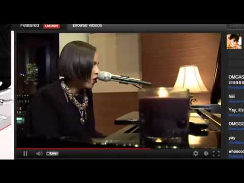 Alicia Keys Brand New Me  During Album Stream