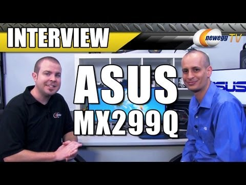 """ASUS Designo Series 29"""" HDMI Widescreen LED Backlight Cinematic LCD Monitor Interview- Newegg TV"""