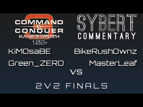 KiMOsaBE & GreenZERO vs BikeRushOwnz & MasterLeaf  2v2 Finals  Kanes Wrath 102+