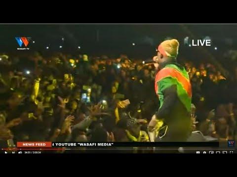 Live : #WASAFI FESTIVAL NAIROBI {KENYA}