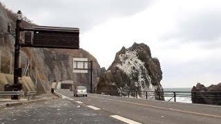 冬の風物詩「波の花」・・・山形県鶴岡市