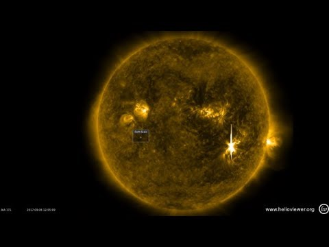How the solar flare is affecting Earth