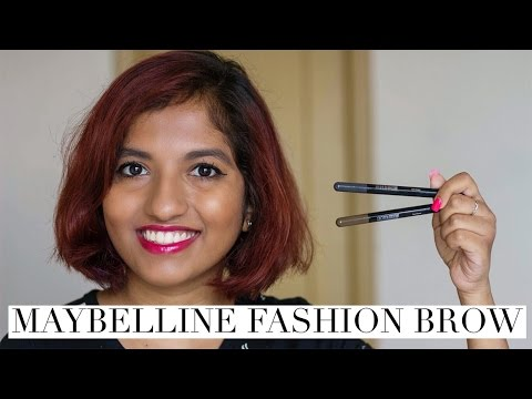 8891b72a38e Maybelline Fashion Brow Duo Shaper Demo + Review // Magali Vaz - YouTube