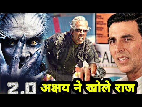 "Akshay Kumar Tells Incredibles Facts About His Upcoming Movie Robot ""2.0"", Rajnikanth, Amy Jackson"