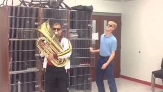 When the band director isn