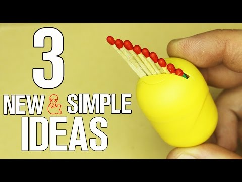 3 New and Simple ideas