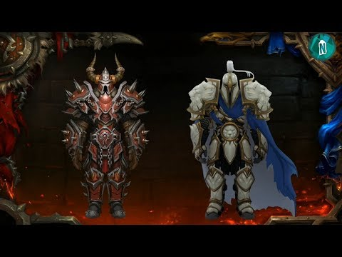 New Models,Weapons in Patch 8.0 Battle for Azeroth | Blizzcon 2017