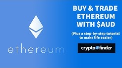 Buy Ethereum ETH in Australia (with AUD)