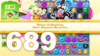 Candy Crush Jelly Saga Level 689 (No boosters)