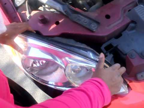 Changing Headlights On 2008 Chevy Impala
