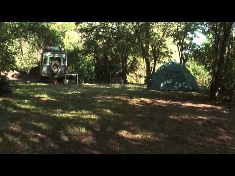 Lake Kariba campsite on the Zimbabwe side - nice place to relax