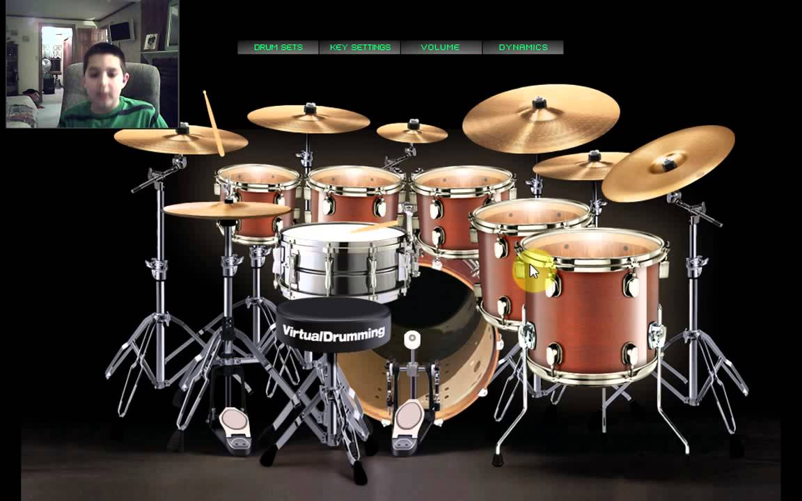Online Virtual Drum Kit