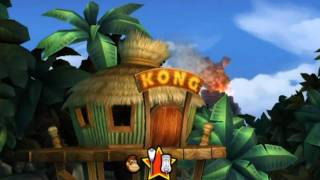 Donkey Kong Country Returns - Playthrough Part 1 - Intro  1-1 Jungle Hijinxs ENG